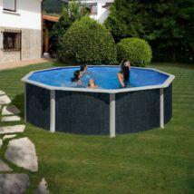PONTAQUA RATTAN 4,6 x 1,20 m kerek medence