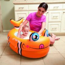 Állatfigurás baby felfújható fürdetőkád 89 x 61 x 58 cm