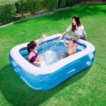 Szögletes családi medence 201x150x51cm