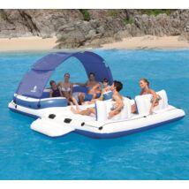 Cool white trópusi úszó sziget 389 x 274 cm