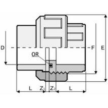 PVC Hollandi D50