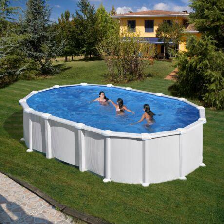PONTAQUA FREE 6,1x3,75x1,32 m ovál, oldaltámasz nélküli medence