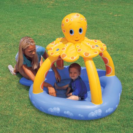 Octopus naptetős pancsoló 102 x 102 x 102 cm