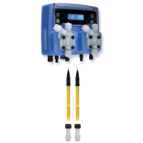 Automata vegyszeradagoló, inline pH/redox