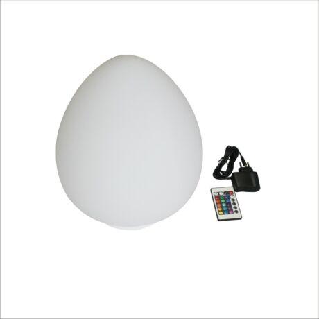 Úszó LED világítás távirányítóval, kúp