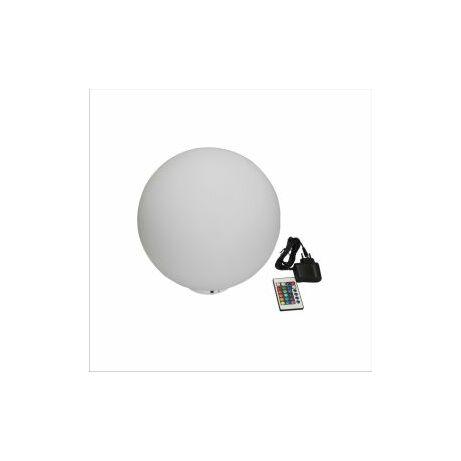 Úszó LED világítás távirányítóval, gömb