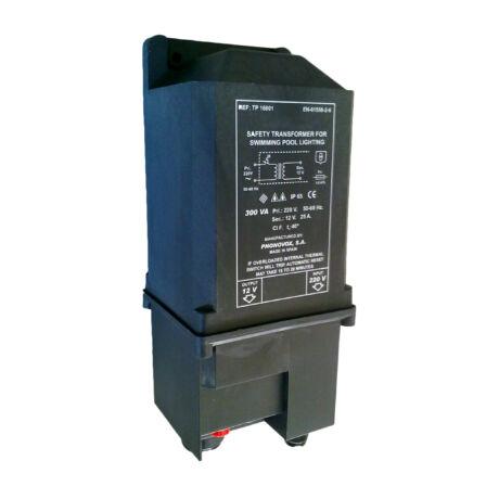 Transzformátor műagyagházban 230/12 V-300 W