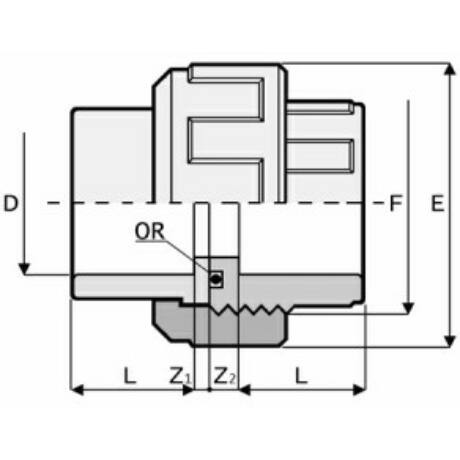 PVC Hollandi D63