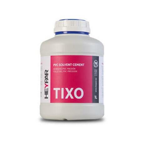 PVC GEL ragasztó (TIXO) ecsettel, HEYPAR 500ml