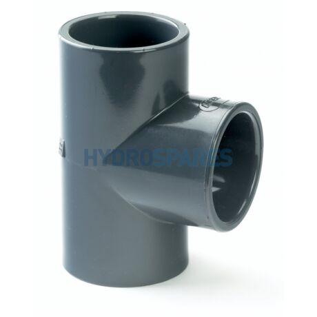 PVC T idom D63