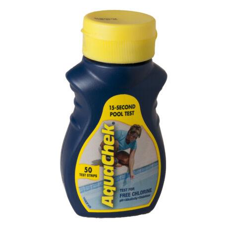 AquaChek klóros vízelemző